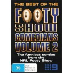The Best of the Footy Show on DVD.