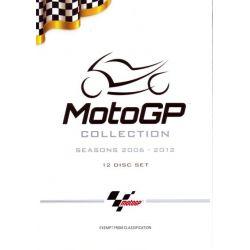 MotoGP Collection (Seasons 2006 - 2012) (Box Set) on DVD.