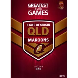 State of Origin Greatest Ever Games on DVD.