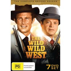 The Wild Wild West - The Complete Second Season on DVD.