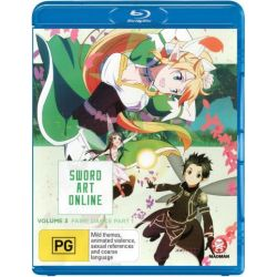 Sword Art Online on DVD.