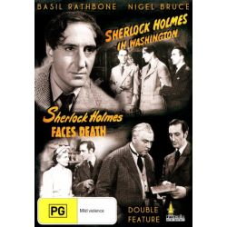 Sherlock Holmes In Washington / Sherlock Holmes Faces Death on DVD.