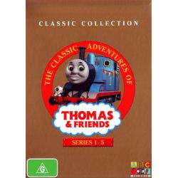 The Classic Adventures of Thomas & Friends on DVD.