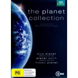 The Planet Collection (Blue Planet/Planet Earth/ Frozen Planet) (13 Discs) on DVD.