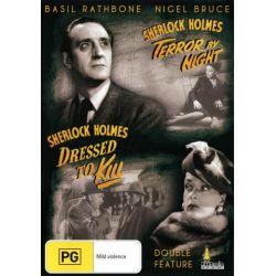 Sherlock Holmes : Terror by Night / Sherlock Holmes : Dressed to Kill on DVD.