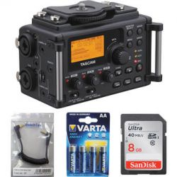 Tascam  DR-60D to Camera Essentials Kit  B&H Photo Video