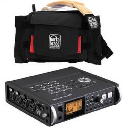 Tascam DR-680 8-Track Portable Field Audio Recorder and Porta