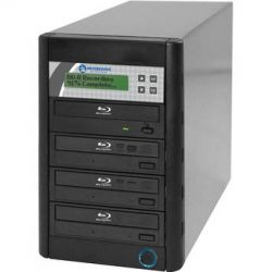Microboards QD-BD-H4 Blu-ray Tower Duplicator QD-BD-H4 B&H Photo