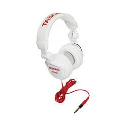 Tascam  TH-02 Studio Headphones (White) TH02-W B&H Photo Video