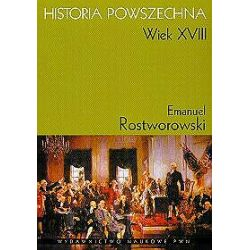 Historia powszechna wiek XVIII - Emanuel Rostworowski