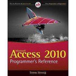Access 2010 Programmer's Reference by Teresa Hennig, 9780470591666.
