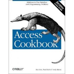 Access Cookbook, Solutions to Common User Interface and Programming Problems by Ken Getz, 9780596006785.