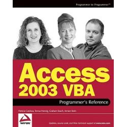 Access 2003 Vba Programmer's Reference (Wrox Press) by Patricia Cardoza, 9780764559037.