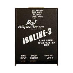 RapcoHorizon Isoline-3 Line Level ISO / Splitter Box IL-3 B&H