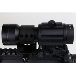 Primary Arms 6X Red Dot Magnifier w PA Flip to Side Lower 1 3 Mount