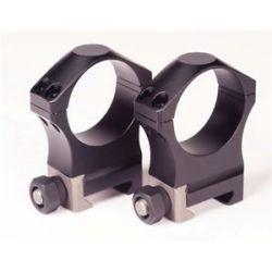 """Nightforce Ultralite 34mm Scope Ring Set 1"""" Medium Height"""