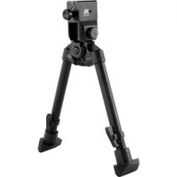 "Star Quick Release Bayonet Lug Mount Bipod 6 89"" 9 53"" Abab"