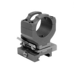 Samson Manufacturing 30mm Absolute Cowitness Flip to Side Magnifier Ring QF 30mm