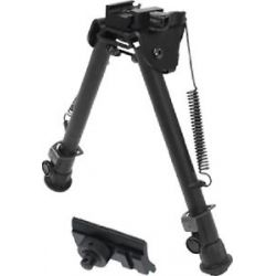 "Leapers UTG Op Quick Disconnect Bipod QD Lever Mount 8"" 12 4"" Height TL BP88Q"