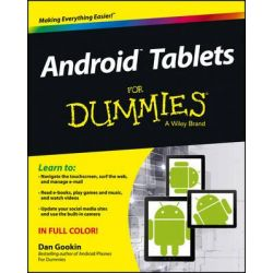 Android Tablets For Dummies by Dan Gookin, 9781118543191.