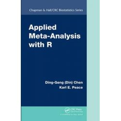 Applied Meta-Analysis with R by Ding-Geng (Din) Chen, 9781466505995.