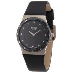 Boccia Damen-Armbanduhr XS Ceramic Analog Leder 3202-02