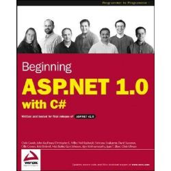 Beginning ASP.NET 1.0 with C# by Chris Goode, 9780764543708.