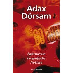 Bücher: Adax Dörsam  von Adax Dörsam