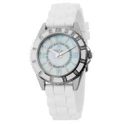 Burgmeister Damen-Armbanduhr Analog Quarz Silikon BM528-186