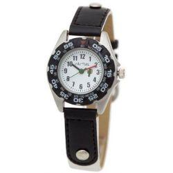 Cactus Jungen-Armbanduhr Analog Nylon weiß CAC-36-M11