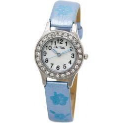 Cactus Mädchen-Armbanduhr Analog blau CAC-34-L04