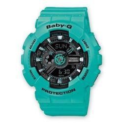 Casio Damen-Armbanduhr XL Baby-G Analog - Digital Quarz Resin BA-111-3AER