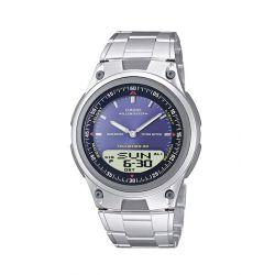 Casio Herren-Armbanduhr Analog Edelstahl Silber AW-80D-2AVES