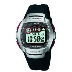 Casio Herren-Armbanduhr Digital schwarz W-210-1DVES