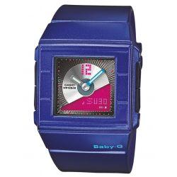 Casio Baby-G Damen Armbanduhr Digi-Ana Blau BGA-201-2EER