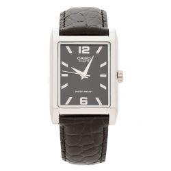 Casio Herren-Armbanduhr Analog Quarz Schwarz MTP-1235L-1A