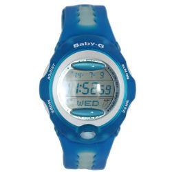 Casio Damen-Armbanduhr Baby-G Digital Quarz Plastik BG-163-2C