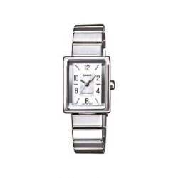Casio Damen-Armbanduhr XS Casio Collection Analog Quarz Edelstahl LTP-1355D-7AEF