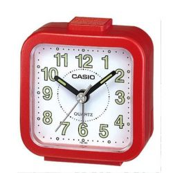 Casio - TQ-141-4EF - Alarm Clock - Quarzuhrwerk - Analogue - Alarm - Bracelet Edelstahlband silber