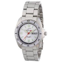 Chris Benz Unisex-Armbanduhr Analog Edelstahl CBM.SI.MB.SI
