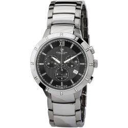 Christina Design London Herren-Armbanduhr Analog Edelstahl schwarz 505-2SBL