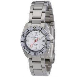 Chris Benz Damen-Armbanduhr XS Analog Edelstahl CBL.SI.MB.SI