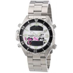 Chris Benz Unisex-Armbanduhr Analog - Digital Quarz Edelstahl CB-D-ALOHA-MB