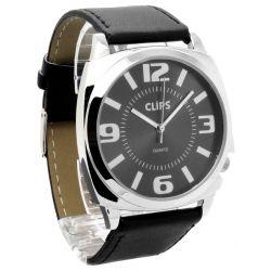 Clips Damen-Armbanduhr Analog Quarz Leder 554-1045-44