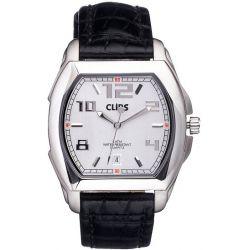 Clips Herren-Armbanduhr Analog Quarz Leder 548-6005-84