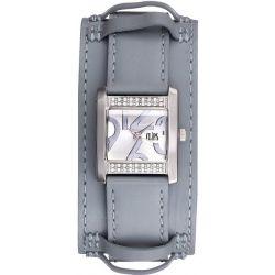 Clips Damen-Armbanduhr Analog Quarz Leder 553-1007-89