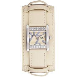 Clips Damen-Armbanduhr Analog Quarz Leder 553-1007-22