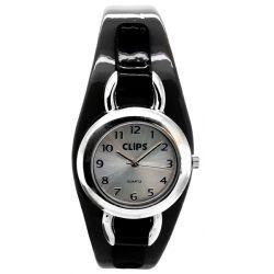 Clips Damen-Armbanduhr XS Analog Quarz Kunstleder 554-1052-84