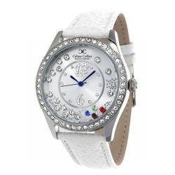 Céline Cellier Damen-Armbanduhr Stylista Analog Quarz Edelstahl CC13G28