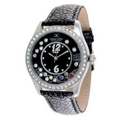 Céline Cellier Damen-Armbanduhr Stylista Analog Quarz Edelstahl CC13G28B